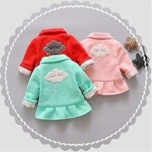 Baby Jacket Coat Girls Outerwear Cardigan Toddler Bebe Autumn Cute Infant Cotton Cartoon