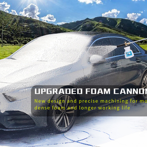Image 5 - High Pressure Washer Adjustable Brass Pro Snow Foam Lance Car Clean Foam Washer Soap Gun Foam Nozzle Foam Generator Foam Maker