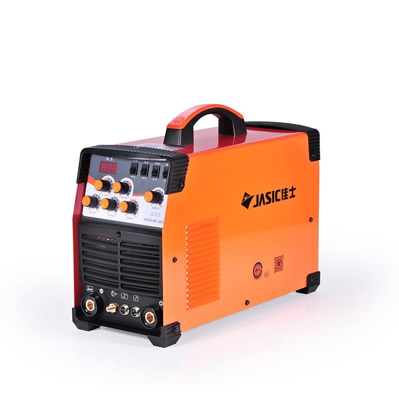 WSME-200 AC DC Pulse spawarka tig spawarka Aluminium MMA 220V cyfrowa kontrola spawania magnez-aluminium i stopów