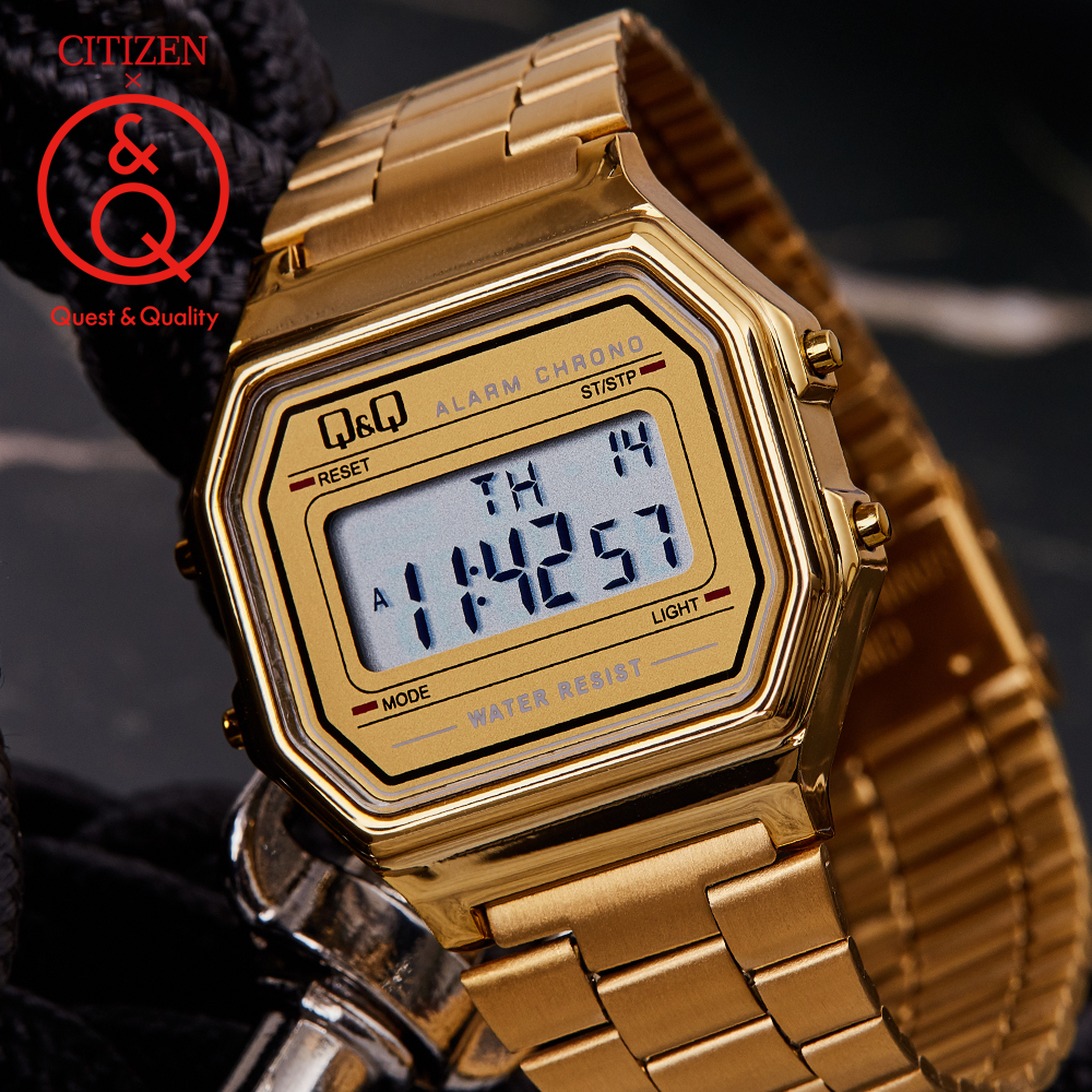 Citizen Q&Q Watch Men Set Top Brand Luxury LED Digital Waterproof Quartz Men Watch Sport Military Wrist Watch Relogio Masculino