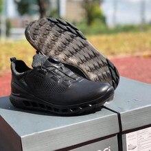 Novos sapatos de golfe marca conforto largo tênis caminhada golfe dos homens sapatos esporte profissional grande sapatos treinamento spikeless couro golfe