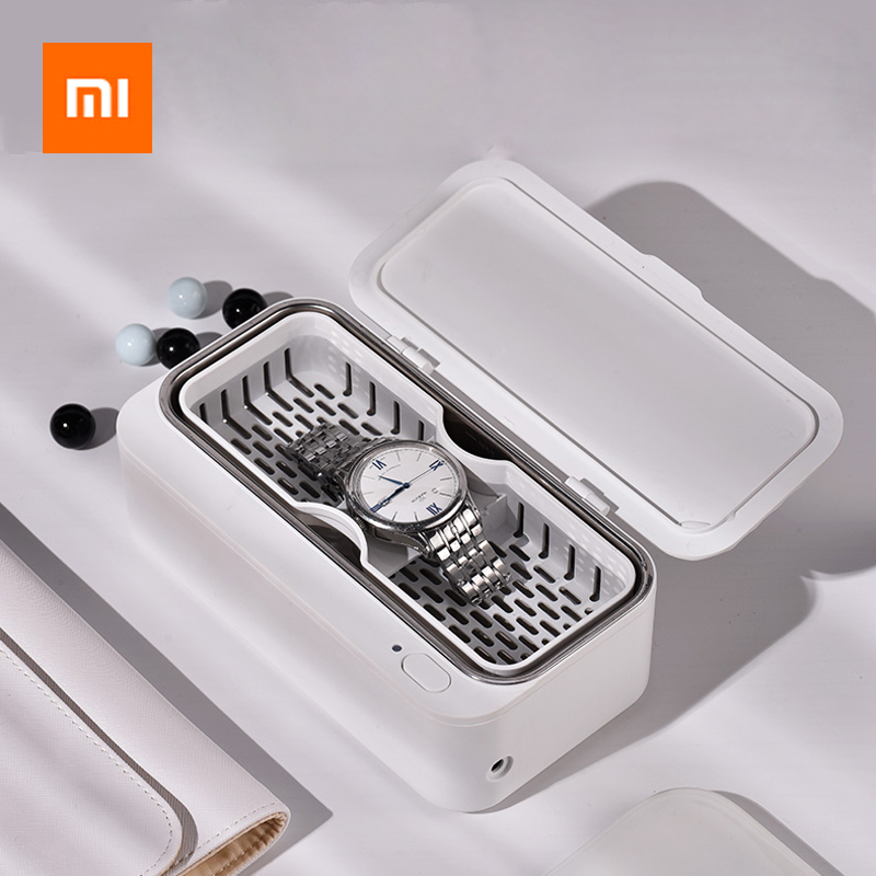 Xiaomi Mijia Youpin EraClean Ultrasonic Cleaner 45000Hz Glasses Watch Dental Razor Brush Ultrasound Sonic Cleaning Tank