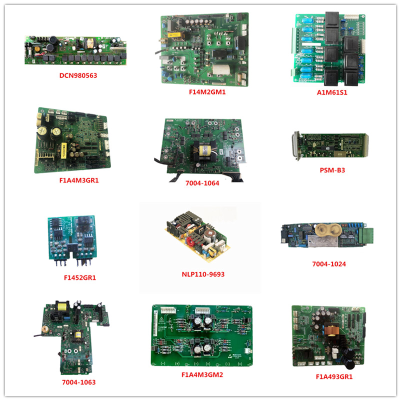 DCN980563  F14M2GM1  A1M61S1  F1A4M3GR1  7004-1064  PSM-B3 F1452GR1 NLP110-9693 7004-1024 7004-1063 F1A4M3GM2 F1A493GR1 Used