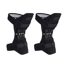 Joint Support Patella Knee Pad Breathable Non-slip Lift Pain Relief For Knee Power Spring Force Stabilizer Knee Booster Sport spring knee booster removable spring adjustable knee support pad sleeve knee support knee