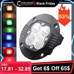 car led worklight 40w 4000lm for offroad 4x4 vehicle driving 12v 24v truck led working lights white combo beam