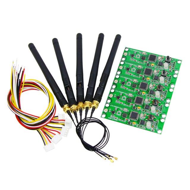 קידום!!! חנויות מפעל 5 יח\חבילה אלחוטי DMX 512 בקר משדר ומקלט 2 ב 1 PCB מודול עבור DMX שלב הדלקת