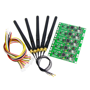 Image 1 - Promotion!!! factory outlets 5pcs/lot Wireless DMX 512 Controller Transmitter&Receiver 2 in 1 PCB Module For DMX Stage Lighting
