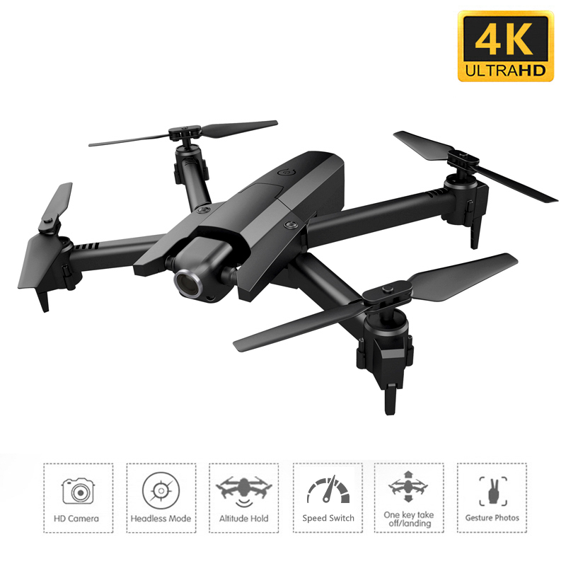 <font><b>GW106</b></font> Mini Rc Drone Profissional 4K Drones with Camera Headless HD RC Helicopter Foldable FPV Quadrocopter Selfie Dron image