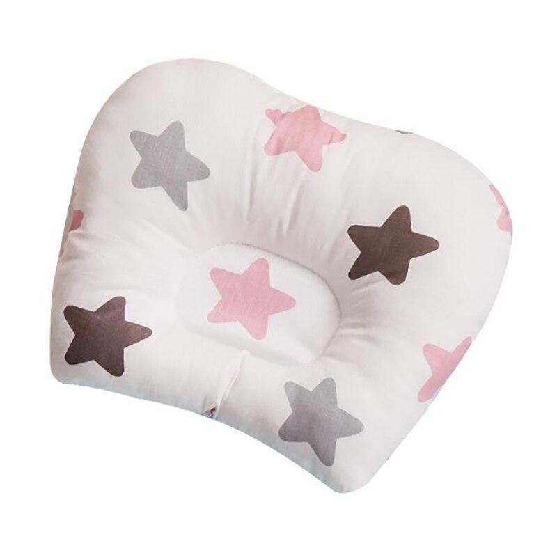 Bebê cabeça plana travesseiro recém-nascido infantil dormir