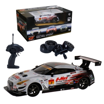 2.4G 4WD Drive Rapid Drift Car Remote Control GT-R NISMO GT3 Car Radio Control Off-Road Vehicle RC Car Drift High Speed Model Ca 1