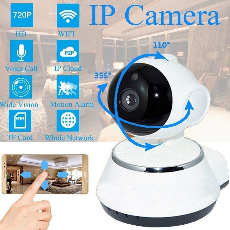 Mini Cam Baby Monitor Phone Remote DVR V380 Support TF Card 720P HD Home Security Video Recorder IP Camera