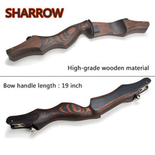 19 Wooden ILF Archery Bow Riser Handle Takedown American Recurve Right Hand For Outdoor Hunting Shooting Accessories