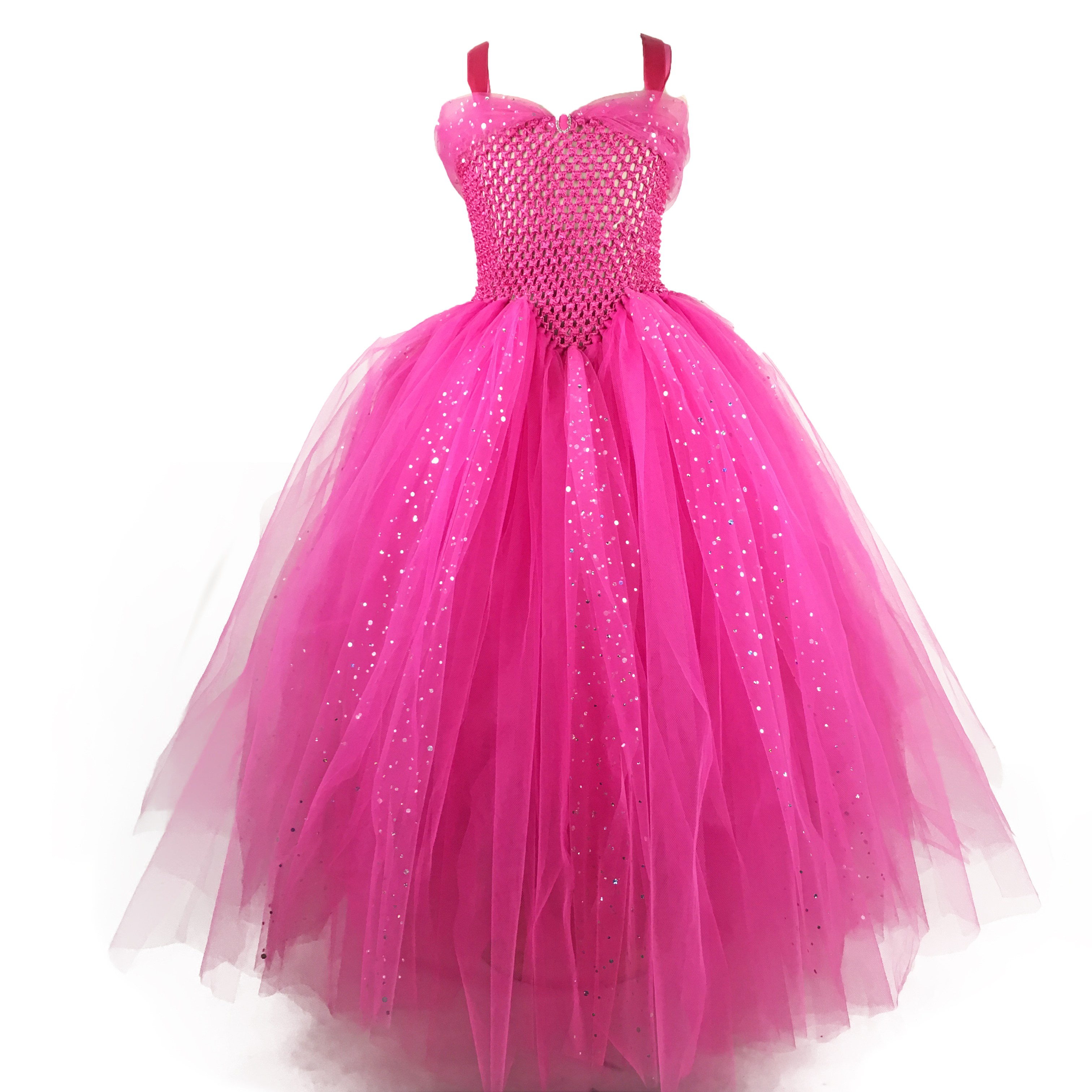 pink sparkly dresses for kids