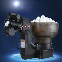 Portable Ping Pong Serving Machine Huipang HP 07 Automatic Table Tennis Training Robot Machine