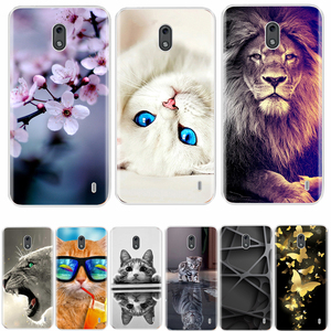 Image 1 - For Nokia 2 3 Case Cover Soft Silicone TPU Fashion Colorful Painted Phone Back Cover Protective Case For Nokia 2 3