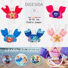 Детские плавающие кольца, пенопластовый мультяшный кронштейн для малышей, кольцевой плавучий жилет одежда для плавающих детей, спасательный жилет Детские плавающие спасательные жилеты