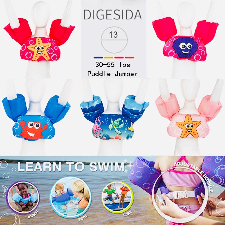 Baby Swim Rings Foam Cartoon Baby Arm Ring Buoyancy Vest Garment Of Floating Kids Safety Life Vest Children's Swim Life Jackets