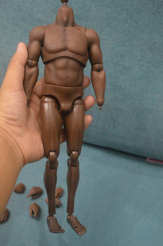 "ZC Toys 1:6 Scale Figura Muscolare Body Fit for 12/"" Toys TESTA SCOLPIRE Hot"
