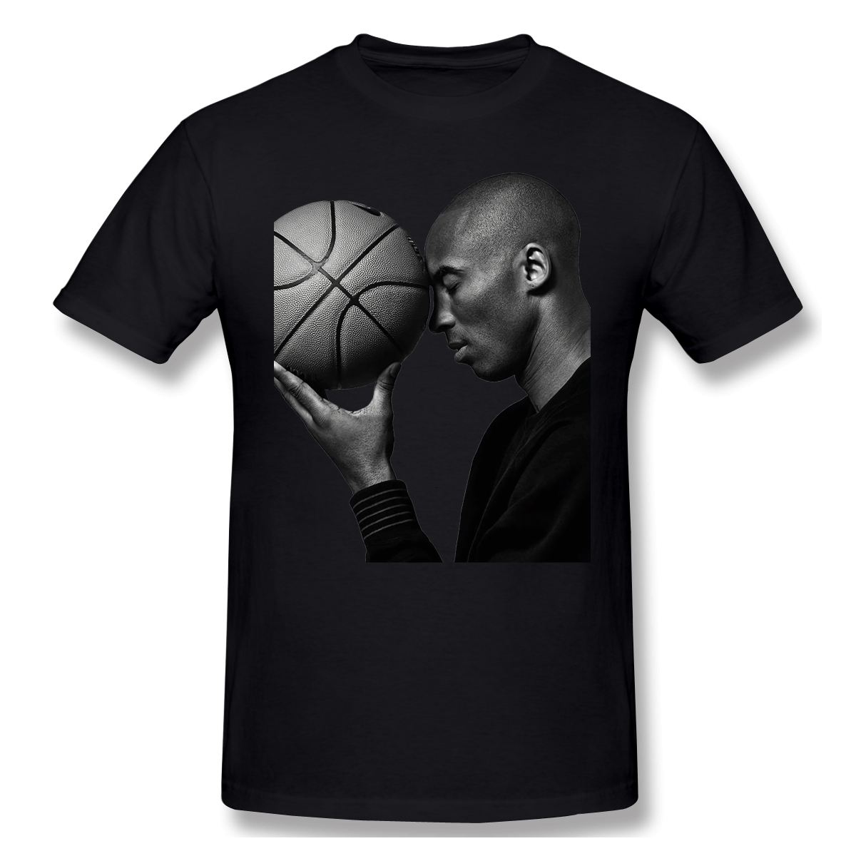 New Summer T Shirt Lifetime Basketball T-Shirt 100 Percent Cotton Bryant Ofertas Tee Shirt Basic Short Sleeve Man Tshirt