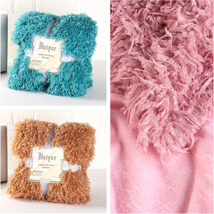 Image 5 - 2019 New Super Soft Shaggy Decorative Background Blanket Long Shaggy Fuzzy  Elegant Cozy With Fluffy  Bed Sofa Bedspread Sheet