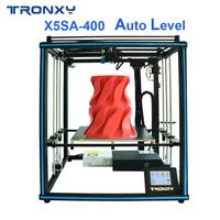 Hot sale Tronxy X5SA 400 3D printer DIY Kits Auto leveling Touch Screen Heat bed 400*400mm|3D Printers|   -