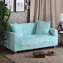 Luxury Embossing Velvet Sofa Covers Universal Stretch Couch Slipcovers Sectional Sofa Covers Furniture Protector Teal Turquoise