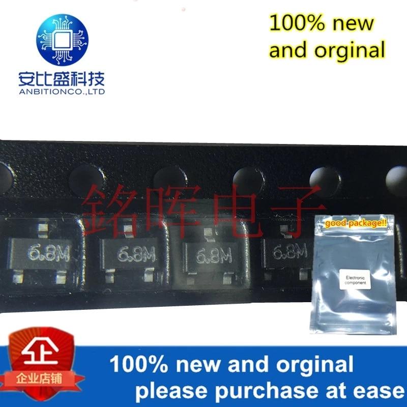 10pcs 100% New And Orginal MA3068-M(TX) Silk-screen 6.8M SOT23 6.8V 6V8 In Stock