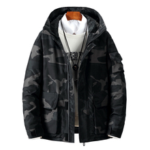High Quality-40 Celsius Down Jacket Keep Warm Men #8217 s Winter Thick Snow Parka Overcoat Camouflage White Black Duck coat 057 cheap JUNGLE ZONE Thick (Winter) G057 REGULAR Casual zipper Denim Polyester Acetate White duck down Full Military camouflage
