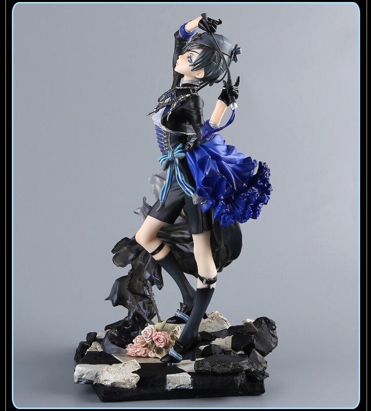 22CM Kuroshitsuji Black Butler Ciel Phantomhive Book of Murder Figurines statues
