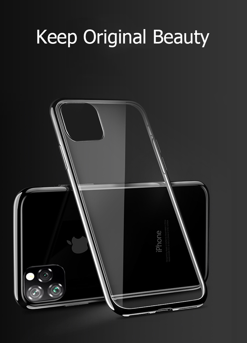 Bright Crystal Clear Case for iPhone 11/11 Pro/11 Pro Max 3