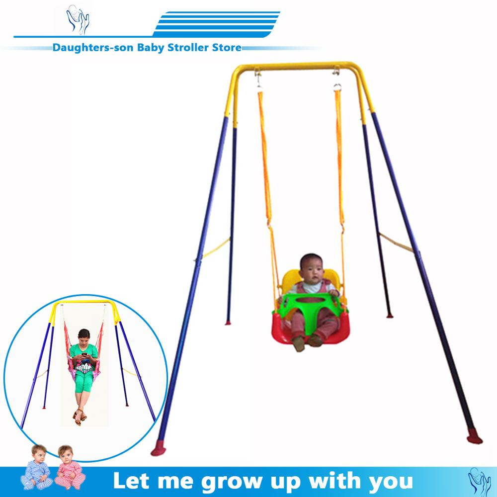 Children's Swing With A Baby Artifact Baby Bouncing Chair Baby Child Jumping Chair Fitness Frame Swing Indoor Hanging Chair Toy