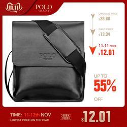Vicunha polo marca famosa bolsa de couro dos homens de negócios casuais bolsa de couro conjunto homem mensageiro saco do vintage crossbody bolsa bolsas masculino