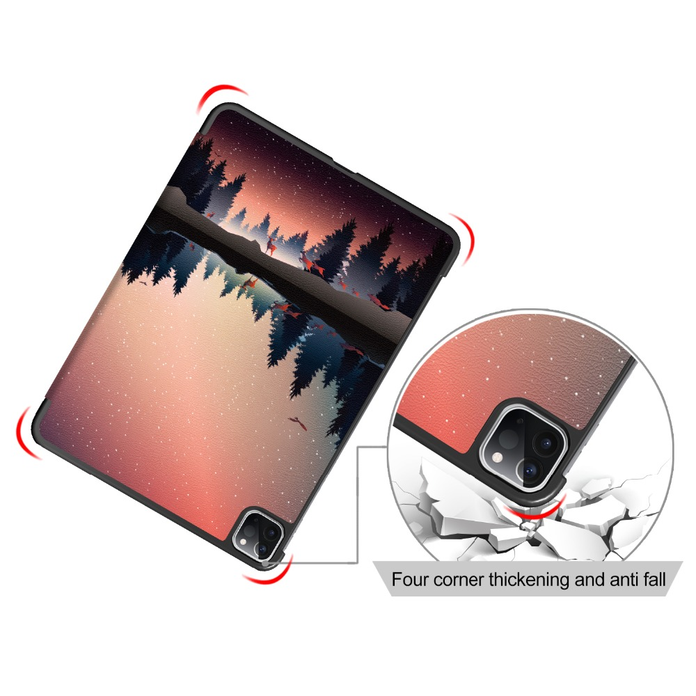Case iPad 2020 for Leather Case iPad Stand Cover 11 PU 11 Apple Pro Pro Foldable for