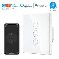 Smart leben WiFi Smart Vorhang Schalter timing Control Schalter Kompatibel mit Alexa und Google IFTTT für Rollladen Motor Tür
