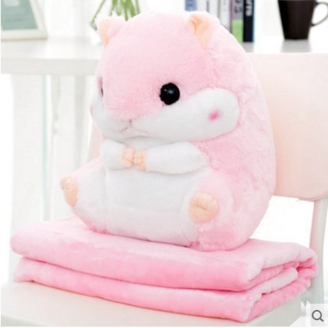 40cm beloved multifunctional hamster plush toys warm hand pillow soft cotton stuffed plush toys for boys and girls holiday gift