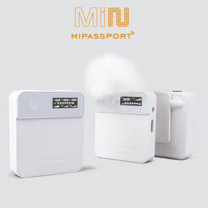Image 2 - Relacart MI1 MI2 Lavalier Wireless Microphone System Transmitter Kit Vlog Video Recording Studio Mic for DSLR Camera Smartphone