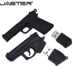 Image 5 - JASTER USB 2.0 serin makineli tabanca silah modeli Flash sürücü tabanca AK47 4 64GB kalem sürücü hediye