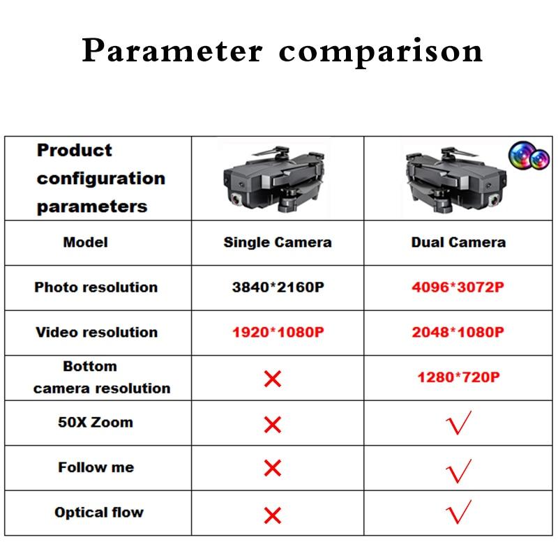SG107 мини-Дрон 4K FPV WIFI Однокамерный Дрон профессиональная двойная камера оптический поток модульная батарея RC Quadcopter VS E58 dron