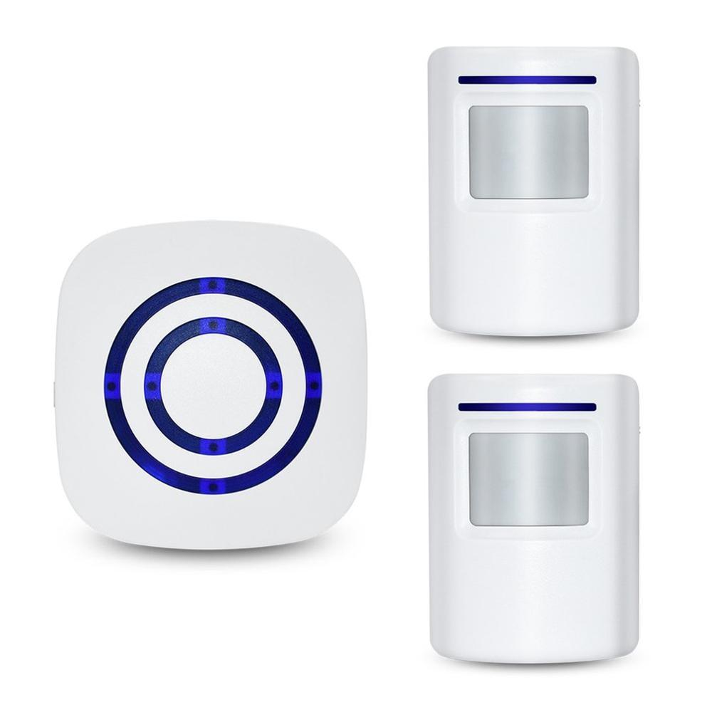 Home Security Welcome Wireless Doorbell Smart Chimes Doorbell Alarm 38 Songs Waterproof