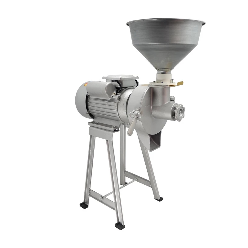 Household Grain Soymilk Maker Commercial Pulp Plant Peanut Butter Machine Corn Grinder