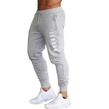 2020 New Men Joggers for Jordan 23 Casual Men Sweatpants Gray Joggers Homme Trousers Sporting Clothing Bodybuilding Pants K - XXXL, 3