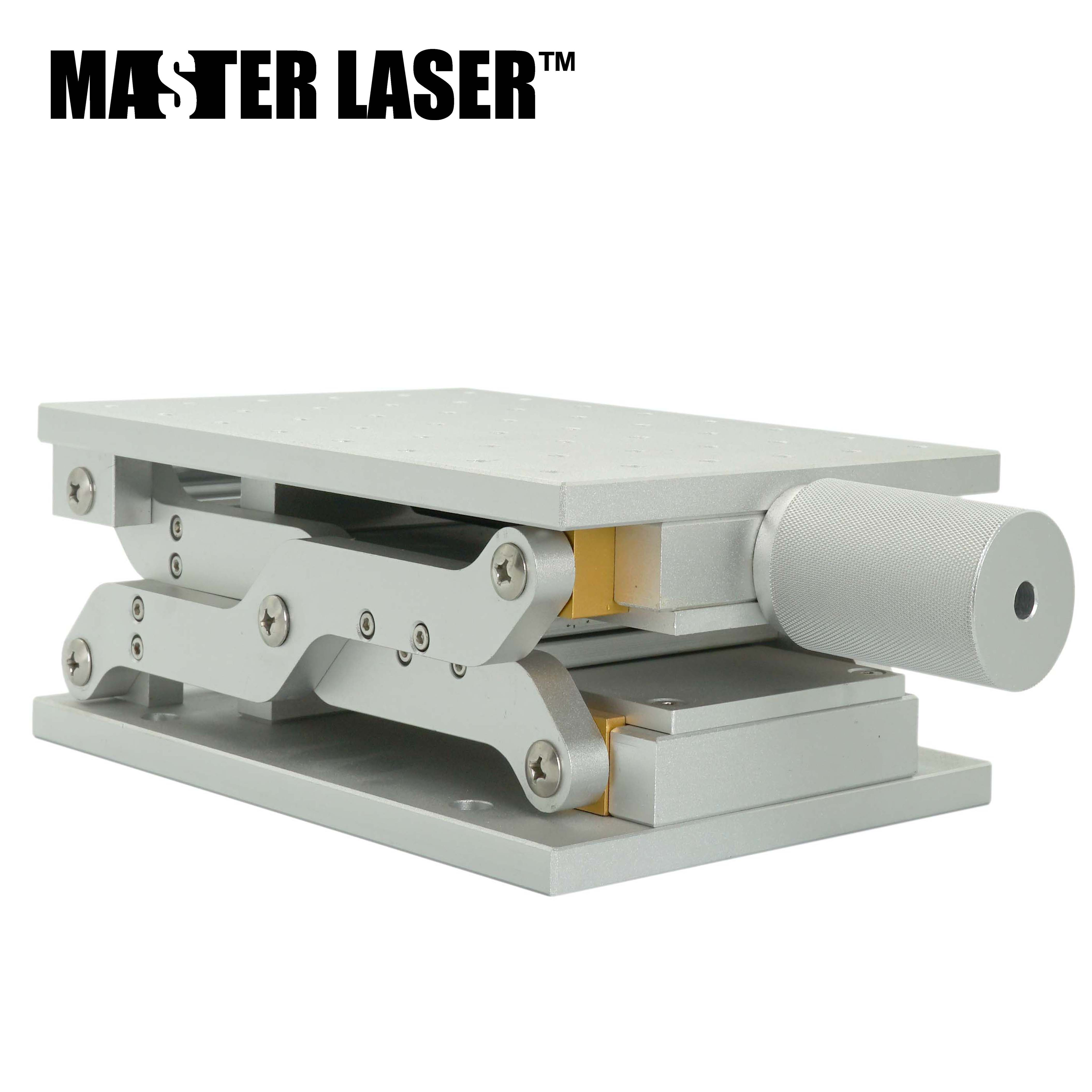 MASTER LASER 1 Axis Work Table Fiber Laser Mark Machine Z Axis Moving Table 210x150 Mm Portable Cabinet Case DIY Part