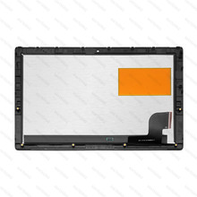 12.2 LED LCD Touch Screen Digitizer Glass Panel Assembly With Frame for Lenovo Miix 510-12IKB 510-12ISK 80U1 80XE 5D10M42923 srjtek 12 0 for lenovo ideapad miix 720 12ikb 720 12 miix720 12 touch screen digitizer lcd display tablet replacement assembly