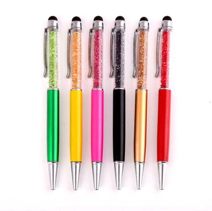 26 kolor kryształowy długopis Pilot rysik pióro dotykowe pisanie artykuły papiernicze biuro zaopatrzenie szkolne spinning Metal pielęgniarka wysokiej jakości