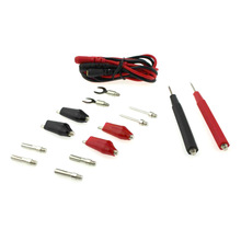 Needle Tip Probe Test Lead Cable Kit Alligator Clip Multifunction Combination Universal Digital Multimeter Test Cable 1pcs vichy vici vc99 3 6 7 auto range digital multimeter with bag alligator probe thermal couple tk cable