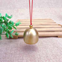 Pure Copper Wind Chime Pendant Christmas Metal Bell Door Copper Bell Christmas Tree Pendant Anti-theft Bell Accessories