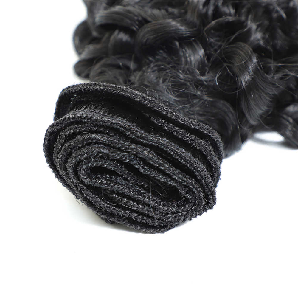 """Synthetische Afro Verworrene Lockige Haar Extensions Wärme Beständig Verworrene Lockige Synthetische Haar Spinnt 22 """"Lockiges Haar Bundles Natürliche Schwarz"""