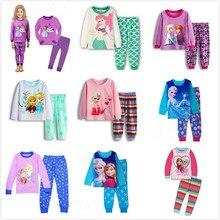 Пижама с лошадкой для девочек Детская Ночная рубашка в расцветке зебры, комплект детской одежды с героями мультфильмов, детские пижамы с длинными рукавами, домашняя одежда для мальчиков, одежда для отдыха
