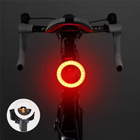 Multi Lighting Modes Bicycle Light USB Charge Led Bike Light Flash Tail Rear Bicycle Lights for Mountains Bike Seatpost 7