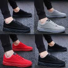2019 Spring And Summer Fashion Mens Casual Shoes Lace-Up Breathable Sneakers Trainers Zapatillas Hombre new